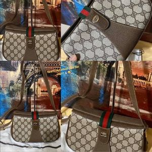 Authentic Vintage Gucci Shoulder Bag